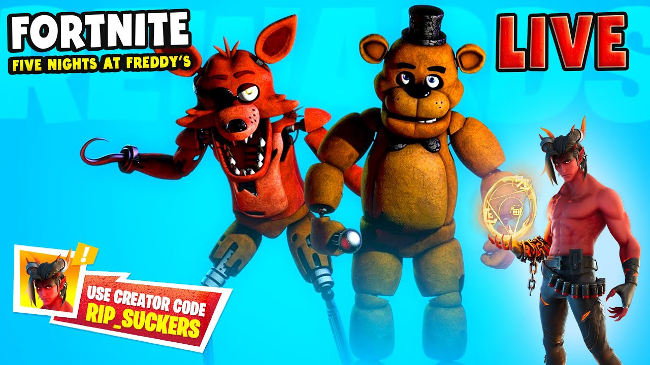 *NEW* FIVE NIGHTS AT FREDDY'S comming to FORTNITE?!