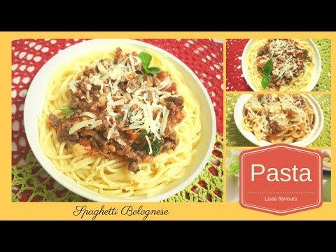 Spaghetti Bolognese - Easy Italian Pasta Recipe/Simple Spaghetti Sauce For Kids