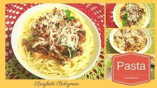 Spaghetti Bolognese - Easy Italian Pasta RecipeSimple Spaghetti Sauce for Kids