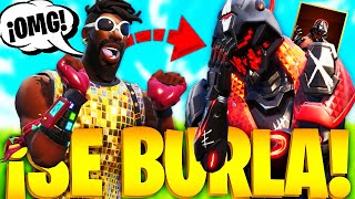 IT MAKES Me for Being CARAMELITO and I SHOW YOU MY NEW SKIN OPRESOR in FORTNITE!.. 🔥😱