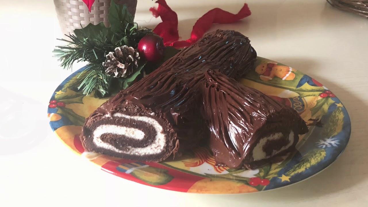 Tronchetto Di Natale Per Celiaci.Tronchetto Di Natale Senza Glutine Youtube