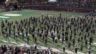 2017 Ohio University Marching 110 Alumni Band - Halftime with Marching 110