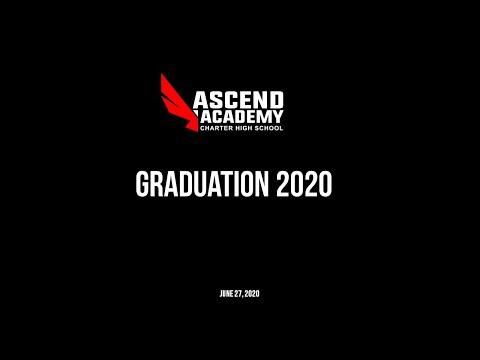 Ascend Academy Charter High School Graduation 2020