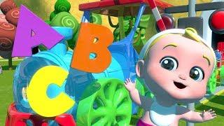 El abecedario para niños   abc tren   alfabetos en español   Learn Abc