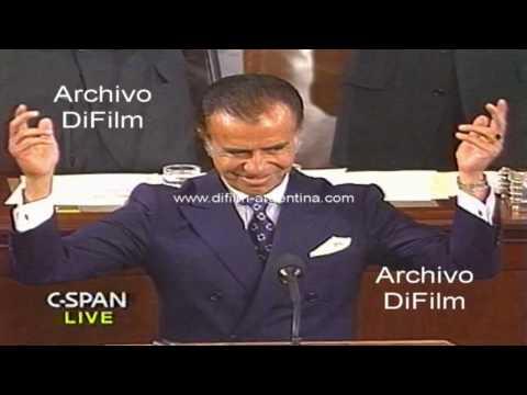 Discurso de Carlos Menem en el Congreso de los Estados Unidos 1991