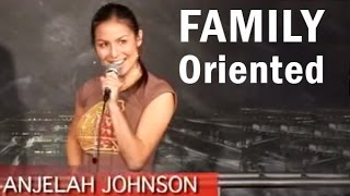 vuclip Anjelah Johnson - Family Oriented (Stand Up Comedy)
