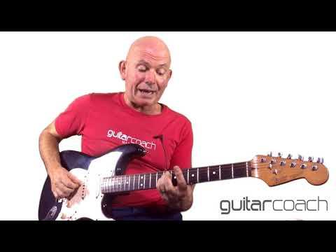 Robert Cray. Right Next Door (Because Of Me). Guitar Lesson