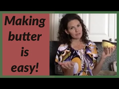 How To Make Raw Butter