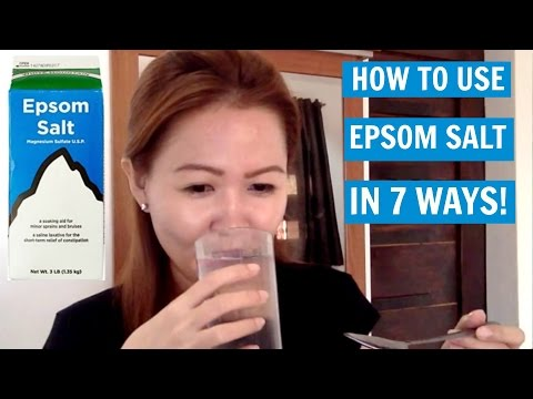 How To Use Epsom Salt In 7 Ways