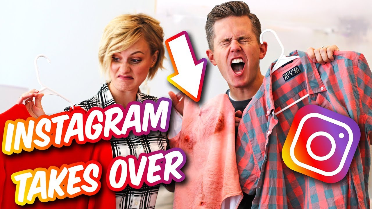 INSTAGRAM CONTROLS OUR DAY! | Ellie And Jared