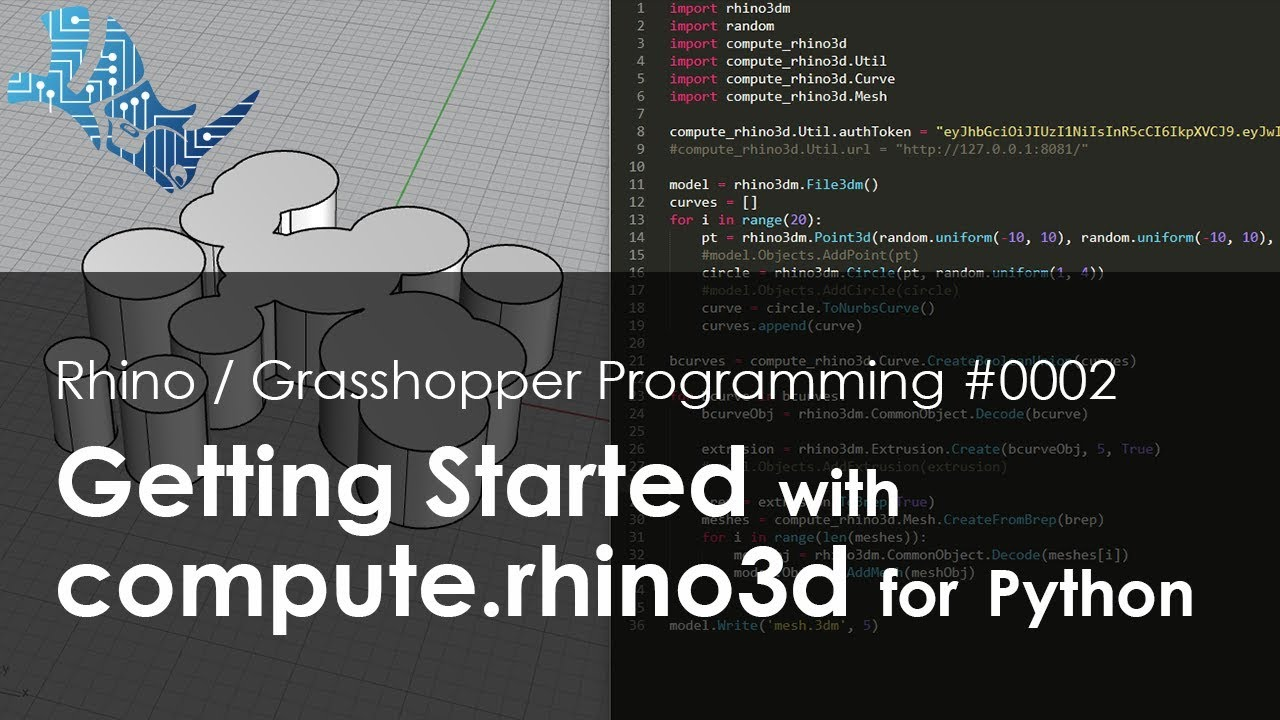 Getting Started with compute rhino3d for Python
