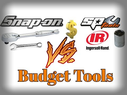 Brand Name Tools V Budget Tools - What Should I Buy?