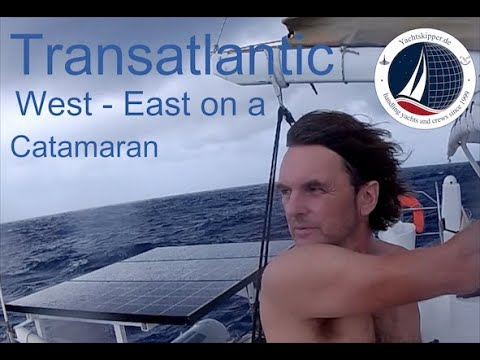 Yachtüberführung / Yacht delivery Catamaran, USA to EUROPE, with WHALE COLLISON, Part I