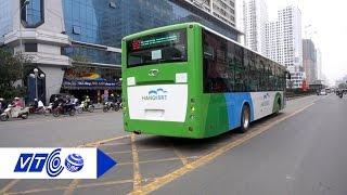Điểm khác biệt của xe buýt BRT ở Hà Nội   VTC