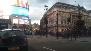 Driving in London - Knightsbridge to Piccadilly Circus