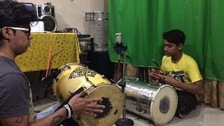 DHOL CLASS WITH MY STUDENT