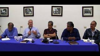 Realizan el conversatorio: Visión jurídica de crímenes de lesa humanidad
