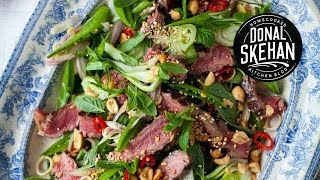 Super Summer Salad- Thai Beef And Mint Salad!