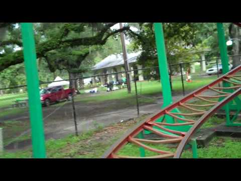 New Orleans City Park Ladybug Rollercoaster