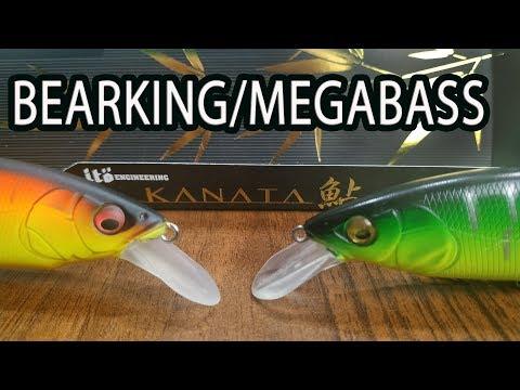 Обзор сравнение Bearking Kanata 160F и Megabass Kanata 160F! Появилась и у Медведей!