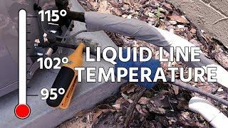 Liquid Line Temperature