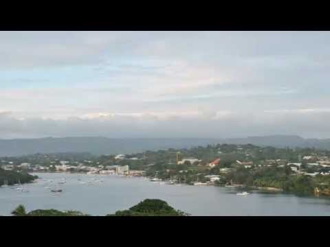 Time lapse of Port Vila, Vanuatu before and after Cyclone PAM