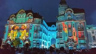 Projection Mapping - Oradea 2019 Art Nuveau day
