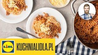 🍝 Szybkie spaghetti po bolońsku – Przepisy Kuchni Lidla