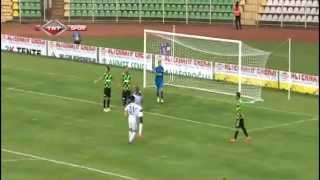 Jacob Mulenga - Giresunspor 0 - 1 Adana DS.. (-1.GOL-) 14.09.2014