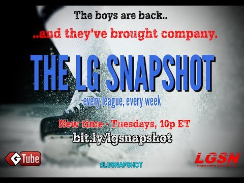 """LG Snapshot, Ep. 4 """"Trades and Transparency"""""""