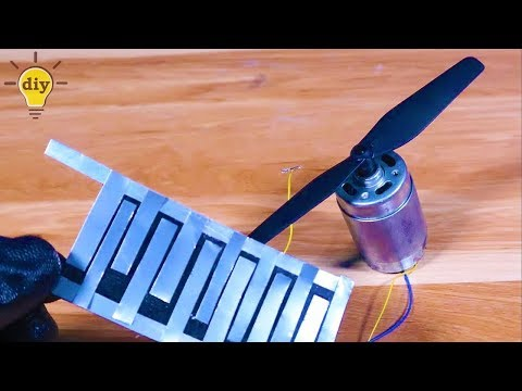How to make solar cell very easy , Free energy with solar energy | Running Motor | Free energy |
