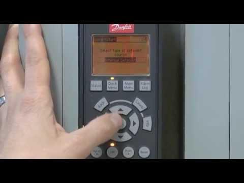 danfoss vlt aqua drive smartstart tutorial danfoss vlt aqua drive smartstart tutorial