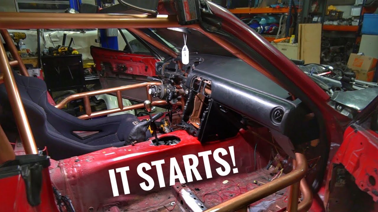 sélection premium 85a5f 8f7c4 LS Swap Miata EP. 29.5 Finishing PMU Wiring, and Dash Install