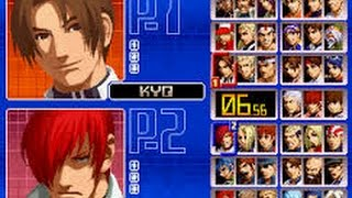 The king of fighters 2002 gameplay