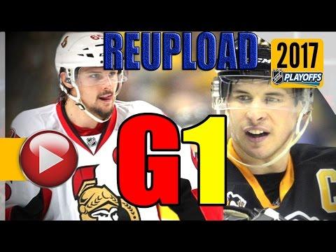 NEW: Ottawa Senators vs Pittsburgh Penguins. NHL 2017 Playoffs. ECF Game 1. (HD)
