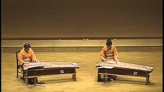 青の島 OH-NO-SHIMA 新実徳英作曲 Japanese KOTO DUO 宮越虹海 検索動画 24
