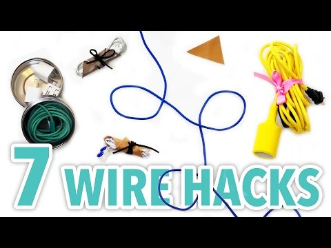 7 DIY Wire Organization Hacks - HGTV Handmade