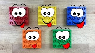 Learning Colors and Counting Blocks Video for Kids.