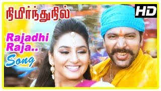 Rajadhi Raja Song | Nimirnthu Nil Scenes | Culprits find a look alike of Jayam Ravi | Amala Paul