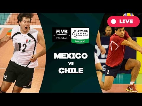 Mexico v Chile - 2016 Mens World Olympic Qualification Tournament