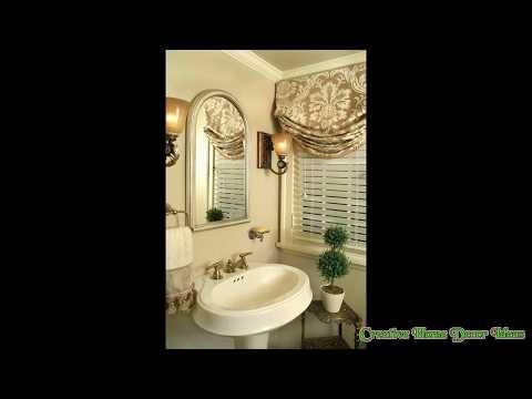 Small Curtain for Bathroom Window