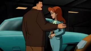 Batman TAS Pamela Isley poisons Harvey Dent