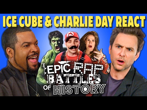 Thumbnail: ICE CUBE & CHARLIE DAY REACT TO EPIC RAP BATTLES OF HISTORY