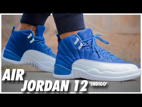 air jordan 12 stone blue price