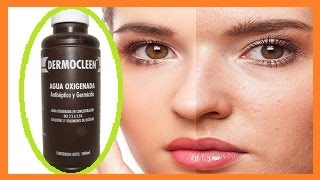 Como aclarar la piel con Agua oxigenada 2