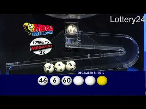 2017 12 08 Mega Millions Numbers and draw results