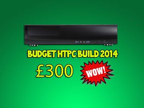 Budget HTPC Computer Build 2014