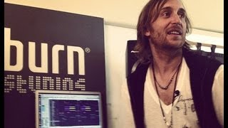 burn studios residency 2012 - Episode 4/7 feat. David Guetta