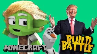 DONALD TRUMP I OLAF! - BUILD BATTLE TEAM #44