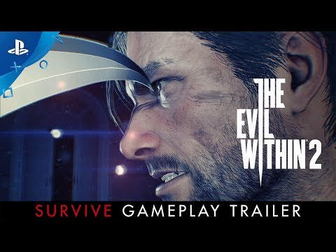 "The Evil Within 2 – ""Survive"" Gameplay   PS4"